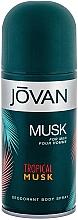 Perfumería y cosmética Jovan Tropical Musk - Desodorante spray