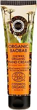 Perfumería y cosmética Crema de manos orgánica con aceite de baobab africano - Planeta Organica Organic Baobab Hand Cream