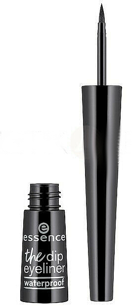Delineador de ojos resistente al agua - Essence The Dip Eyeliner Waterproof