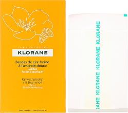 Perfumería y cosmética Bandas de depilación con aceite de almendras sin parabenos - Klorane Cold Wax Strips