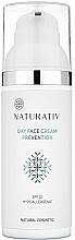 Perfumería y cosmética Crema hipoalergénica de día con aceite de argán y oliva, SPF10 - Naturativ Facial Day Cream