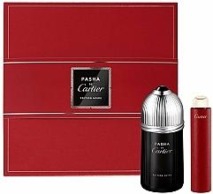 Perfumería y cosmética Cartier Pasha de Cartier Edition Noire - Set (edt/100ml + edt/15ml)