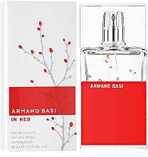 Armand Basi In Red - Eau de toilette — imagen N2
