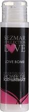 Perfumería y cosmética Gel de ducha e higiene íntima afrodisiaco - Sezmar Collection Love Love Bomb Aphrodisiac Shower Gel (mini)