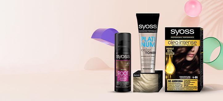 Rebajas del 25% en productos promocionales para el cuidado del cabello Syoss. Los precios indicados tienen el descuento aplicado