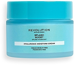 Perfumería y cosmética Crema facial hidratante con ácido hialurónico, vegana - Revolution Skincare Splash Boost with Hyaluronic Acid
