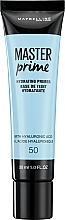 Perfumería y cosmética Prebase de maquillaje - Maybelline Master Prime 50 Hydrating