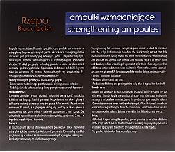 Ampollas para cabello con extracto de rábano negro y mentol - Joanna Turnip Description Strengthening Ampoules — imagen N2