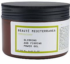 Perfumería y cosmética Gel corporal reafirmante con extracto de guaraná y hoja de olivo - Beaute Mediterranea Slimming And Firming Power Gel