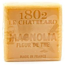 Perfumería y cosmética Jabón natural con magnolia y flor de árbol de té, sin aceite de palma - Le Chatelard 1802 Soap Magnolia Tea Flower