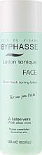 Perfumería y cosmética Tónico facial hidratante con jugo de aloe vera - Byphasse Sensi-fresh Aloe Vera Toning Lotion