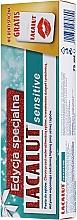 Perfumería y cosmética Set (pasta dental/75ml + palillos de hilo dental) - Lacalut Sensitive Special Edition Set