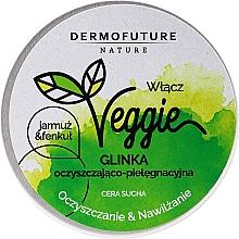Perfumería y cosmética Pasta de limpieza facial exfoliante natural con extracto de col rizada e hinojo - DermoFuture Veggie Kale & fennel Pasta