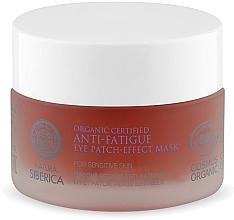 Perfumería y cosmética Parches antifatiga para contorno de ojos con hidrolato de rodiola - Natura Siberica Organic Certified Anti-Fatigue Eye Patch-Effect Mask