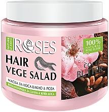 Perfumería y cosmética Mascarilla capilar revitalizante con agua de rosas y manteca de cacao - Nature of Agiva Roses And Cocoa Butter Hair Mask