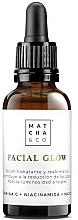 Perfumería y cosmética Sérum facial hidratante y reafirmante con vitamina C - Matcha & Co Facial Glow Serum