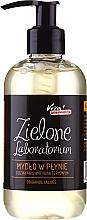 Perfumería y cosmética Jabón líquido con aceite de naranja y extracto de aloe - Zielone Laboratorium