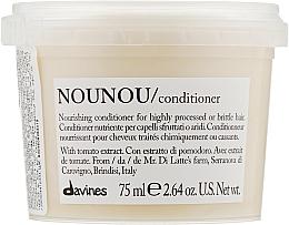 Perfumería y cosmética Acondicionador nutritivo con extracto de tomate - Davines Nourishing Nounou Conditioner