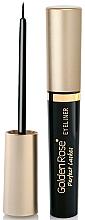 Perfumería y cosmética Delineador de ojos - Golden Rose Perfect Lashes Black EyeLiner