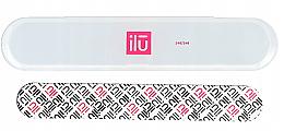 Perfumería y cosmética Lima de uñas mediana profesional con estuche - Ilu Nail File With Case Medium 240/240