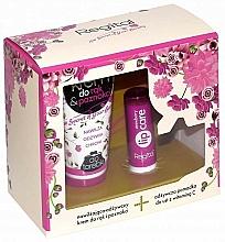 Perfumería y cosmética Set - Regital Hand & Lips (crema de manos/40ml + bálsamo labial/4.9g)