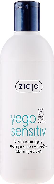 Champú fortalecedor con extractos naturales y vitaminas - Ziaja Yego Fortifying Shampoo