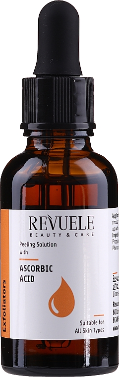 Peeling facial con ácido ascórbico - Revuele Peeling Solution Ascorbic Acid Exfoliator