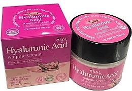 Perfumería y cosmética Crema facial hidratante con ácido hialurónico - Ekel Hyaluronic Acid Ampule Cream