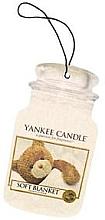 Perfumería y cosmética Ambientador de coche - Yankee Candle Soft Blanket Car Jar Ultimate