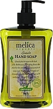 Perfumería y cosmética Jabón de manos líquido natural con aroma a lavanda - Melica Organic Lavander Liquid Soap