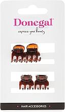 Perfumería y cosmética Pinza de pelo mini, marrón, FA-5819 - Donegal Hair Clip