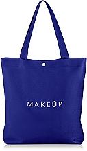 Perfumería y cosmética Bolso shopper, azul (33x25x9cm) - MakeUp Easy Go