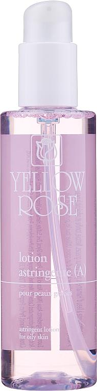 Loción facial astringente con agua de hamamelis y zinc - Yellow Rose Lotion Astringente A