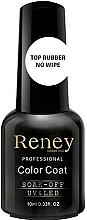 Perfumería y cosmética Top coat gel sin capa pegajosa, UV/LED - Reney Cosmetics Top Rubber No Wipe