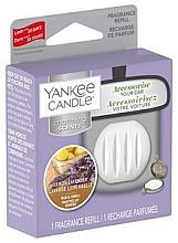 Perfumería y cosmética Ambientador de coche, lavanda & limón (recarga) - Yankee Candle Lemon Lavender