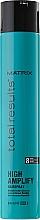 Perfumería y cosmética Laca antihumedad con pantenol, fijación fuerte flexible - Matrix Total Results High Amplify Hairspray
