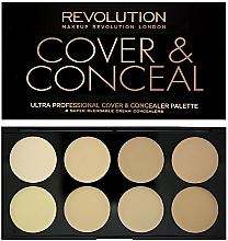 Perfumería y cosmética Paleta de correctores - Makeup Revolution Ultra Cover and Conceal Palette