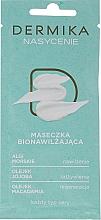 Perfumería y cosmética Mascarilla facial hidratante con algas marinas y aceites de jojoba y macadamia - Dermika Plenitude Bio-Moisturizing Mask