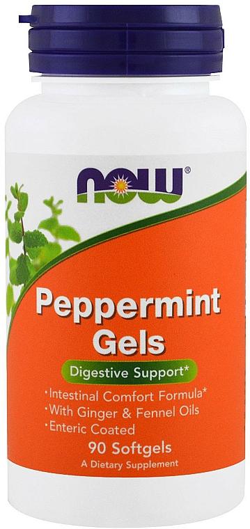 Complemento alimenticio en cápsulas de menta - Now Foods Peppermint Gels
