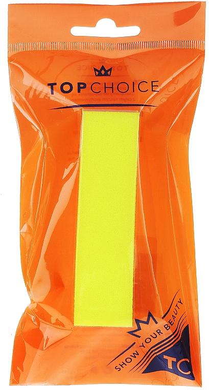 Bloque pulidor de uñas, grano 120/150, 74813, amarillo - Top Choice Colours Nail Block
