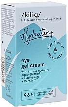 Perfumería y cosmética Gel crema natural antimanchas para contorno de ojos con aloe y extracto de algas - Kili-g Hydrating Eye Gel Cream