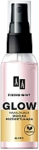 Perfumería y cosmética Spray fijador de maquillaje con provitamina B5 y alantoína - AA Fixing Mist Glow