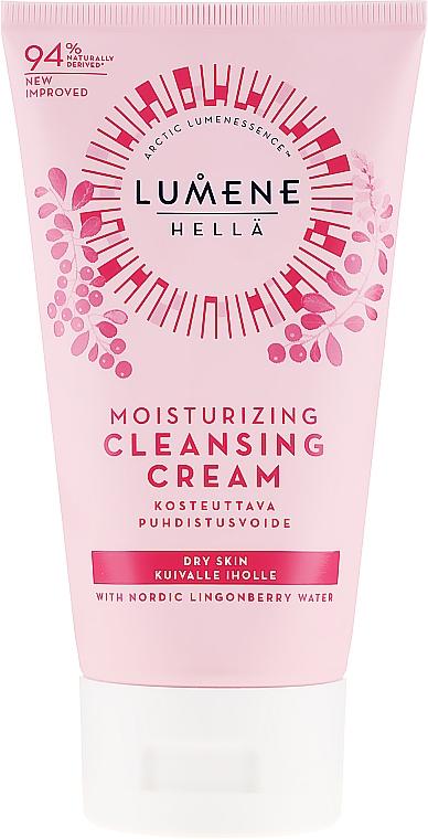 Crema facial limpiadora con agua de arándano rojo nórdico - Lumene Moisturizing Cleansing Cream