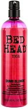 Tratamiento reconstructor para cabello tratado quimicamente - Tigi Bed Head Colour Combat Dumb Blonde Conditioner — imagen N3