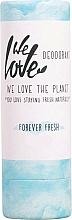Perfumería y cosmética Desodorante stick fresco de aceite de limón y hierbas - We Love The Planet Forever Fresh Deodorant Stick