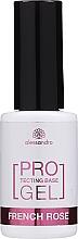 Perfumería y cosmética Base coat para manicura francesa, UV/LED - Alessandro International Protectig Base Gel French Rose