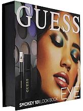 Perfumería y cosmética Set (máscara/4ml + lápiz de ojos/0.5g + 12xsombras de ojos/1.96g) - Guess Beauty Smokey 101 Eye Lookbook