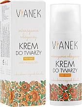 Perfumería y cosmética Crema de noche nutritiva con aceite de almendras dulces y extracto de lúpulo - Vianek Nourishing Night Cream