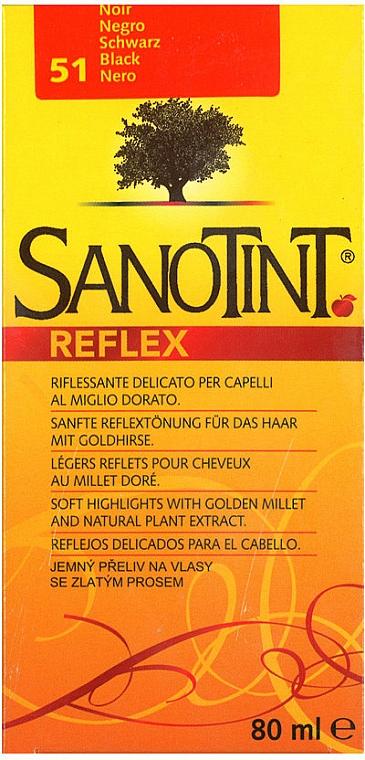 Champú colorante para reflejos con extracto de comomila - Sanotint Reflex