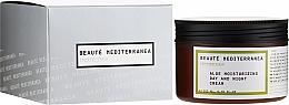 Perfumería y cosmética Crema facial hidratante con extracto de aloe vera - Beaute Mediterranea Aloe Moisturizing Day And Night Cream